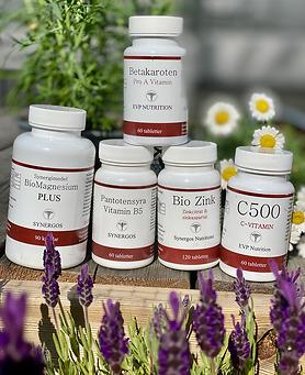 Mineraler vitaminer magnesium Egenvårdspoolen