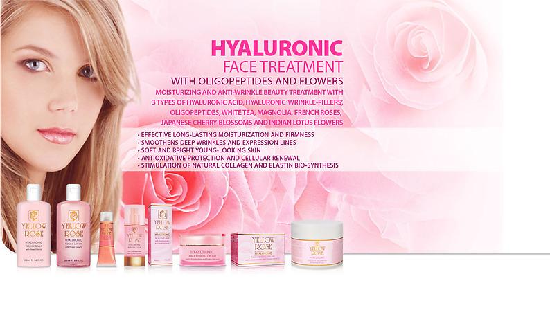 Hyaluronic återfuktande ansiktsbehandling