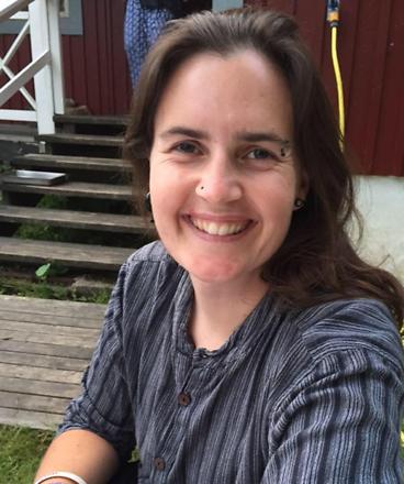 Vår yogalärare Veronica Holm