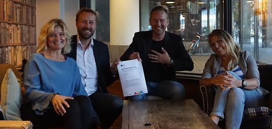 Strategiskt samarbetsavtal mellan FEEL it BETTER och HRV Träning Sverige
