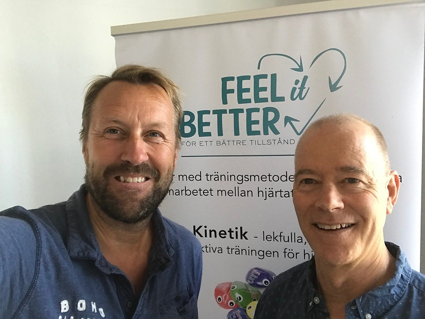 Dr Dale Richardson på besök hos FEEL it BETTER