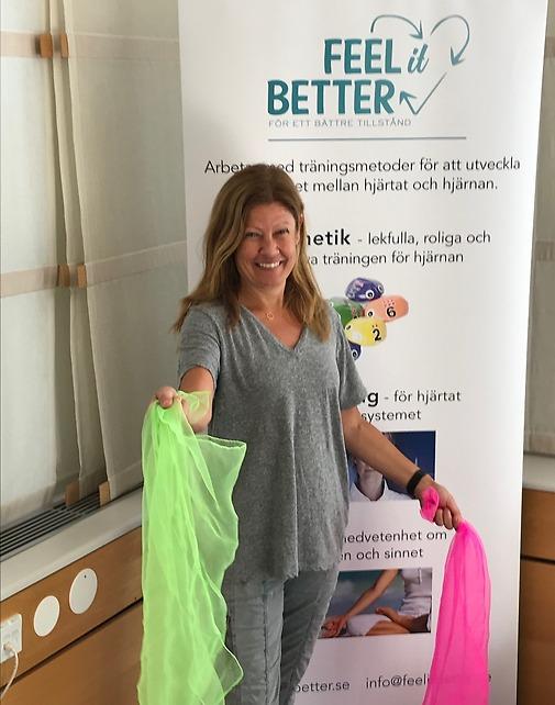 Ulrika Akander på besök hos FEEL it BETTER