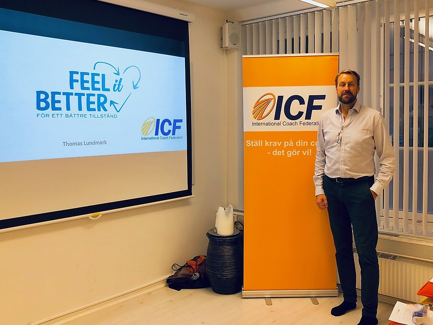 FEEL it BETTER har en workshop om hjärnan hos ICF Coacher i Stockholm