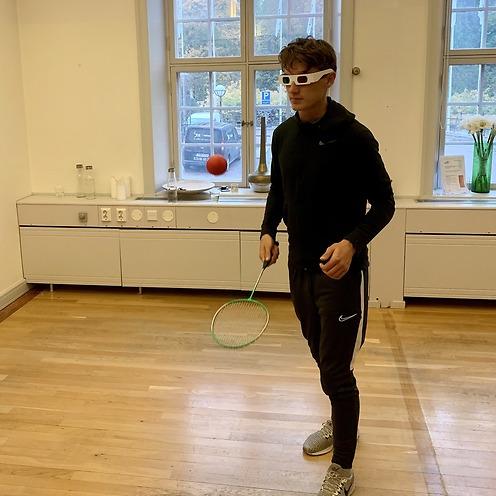 Ögonträning för tredimensionellt seende och koordination