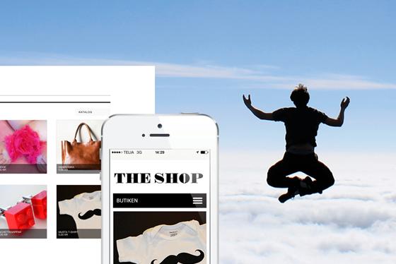 Mobiloptimerad - sätt din butik i kundens hand