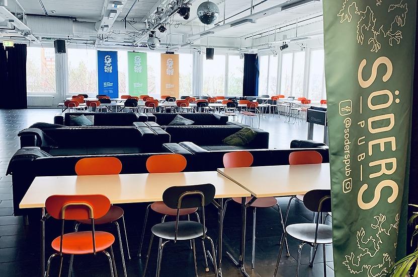 SöderS kår- och publokal ekar tomt på studenter. Vi längtar tills verksamheten är igång igen och vi får träffa er alla!