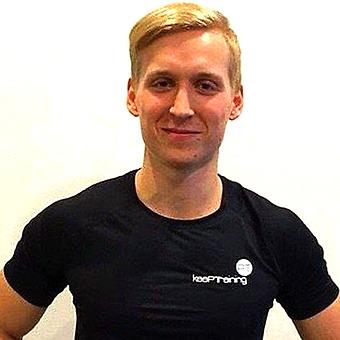 Sebastian Weslien, var PT-elev hos IPTA i Marbella. Arbetar nu som PT på KeepTraining (Uppsala).