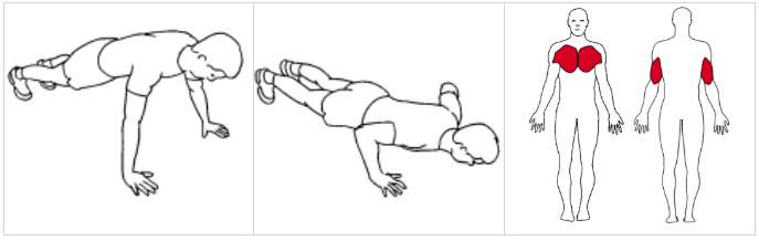 träning med egen kroppsvikt ©ExorLive.com, IPTA utbildning