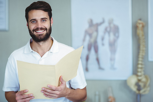 Musarmsstöd, skydd, utvecklar i samråd med sjukgymnaster och ergonomer. Stödet följer armens rörelser, väger bara 4 gram.
