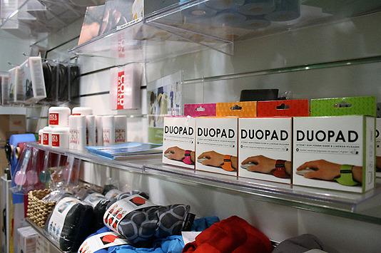 Adolf Fredriks Fysiocenter har varit med och testat produkten. De rekommenderar DuoPad och är återförsäljare.
