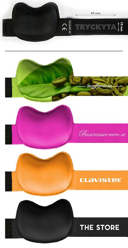 Musarmsstöd DuoPad – tryck din logga. Eget mönster, reklamprodukt. Musarmsstöd som fungerar.
