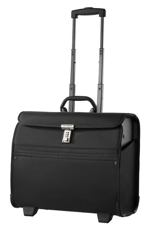 Samsonite Transit säljväska på hjul som öppnas uppifrån, en bra väska när man har många produkter som ska med