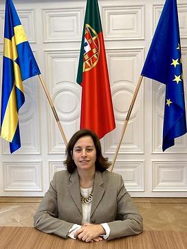 Ambassador of Portugal to Sweden - Sara Martins