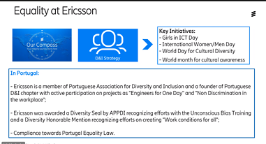 Equality at Ericsson Portugal