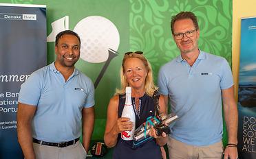 Winner with Danske Bank