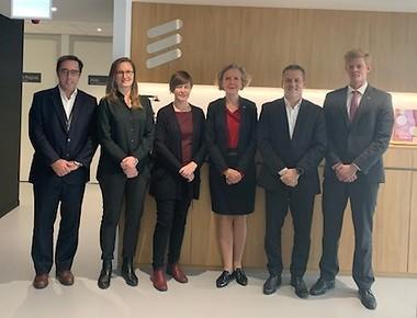 Team Sweden at Ericsson Portugal