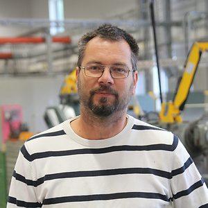 Christer Waernoff på CNG i Finspång