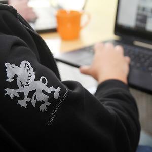 Elever på CNG i Finspång får tillgång till egen dator