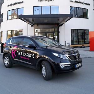Elever på CNG i Finspång får fri körkortsutbildning