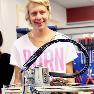FD. elev på El- och energiprogrammet på CNG i Finspång