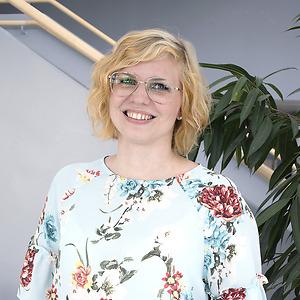 Elin Wincent på CNG i Finspång