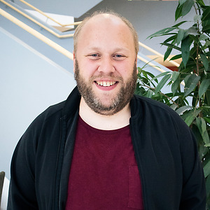 Rikard Johansson på CNG i Finspång