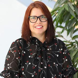 Jessica Johannesson på CNG i Finspång
