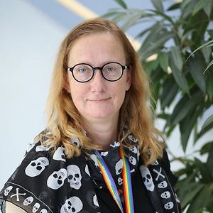 Camilla Segervall på CNG i Finspång