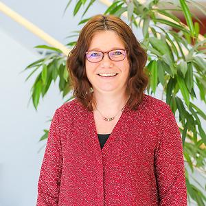Annika Könemann på CNG i Finspång