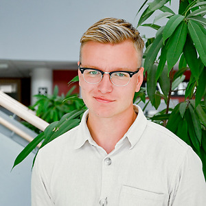 Emil Olsson på CNG i Finspång
