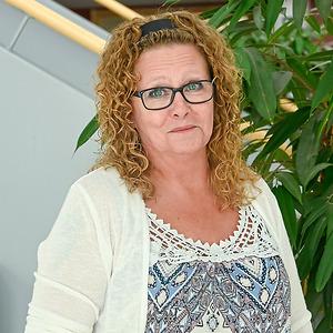 Anette Lindberg på CNG i Finspång
