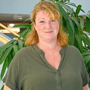 Marie Staf på CNG i Finspång
