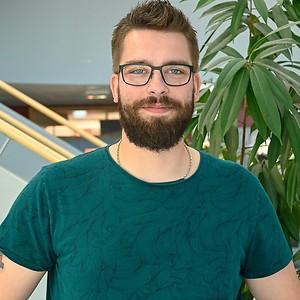 Simon Jacobsson på CNG i Finspång