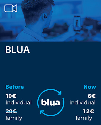 Digital complement blua