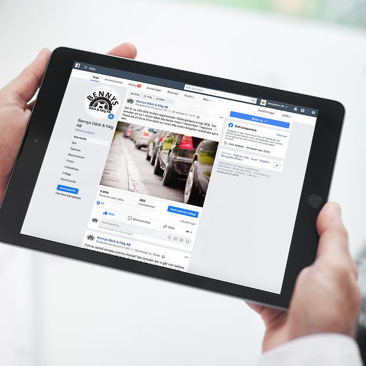Mälardalens tandklinik sociala medier