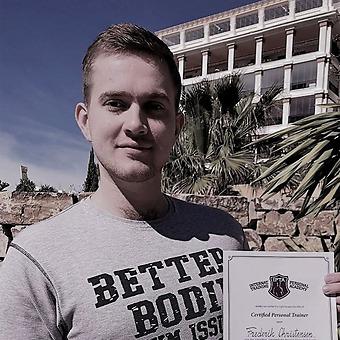 Frederik Møller Christensen (Denmark), former student IPTA Marbella Spain – Personal Trainer Course