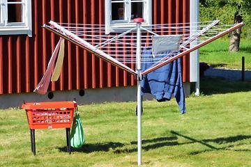 Röd Torkvinda i Småland