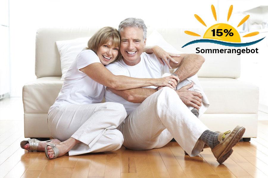 Sommerangebot Krankenversicherung  15% Rabatt