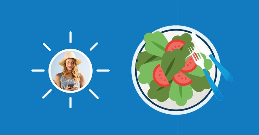 Proteinreiche Salate, ideal für den Sommer   Sanitas Estepona