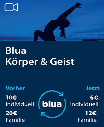 Digital blua Körper & Geist