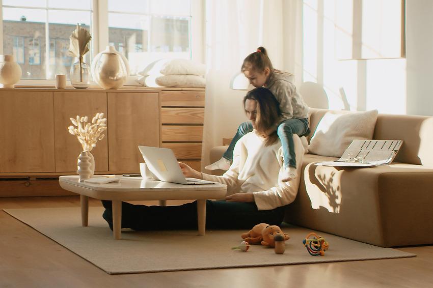 Miljövänlig arbetsplats hemma