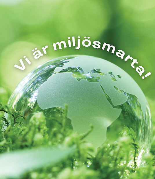 Vi är miljösmarta – Städsällskapet AB i Stockholm