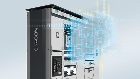 Elektromontage Siemens Sivacon ställverkssystem