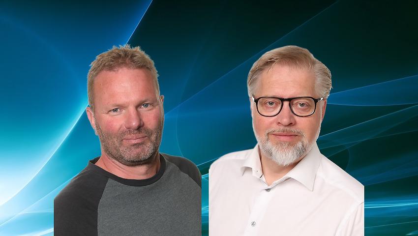 Roberth Karlsson och Anders Göransson