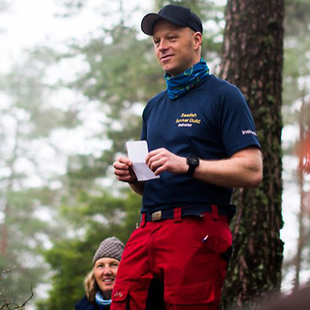Magnus de Besche, instruktör Beredskap Sverige – Foto Jessica Kroon