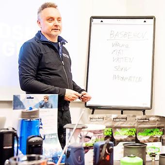 Christer Thunell, instruktör Beredskap Sverige