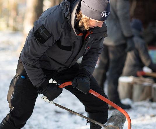 Beredskap Sverige –vinterbild