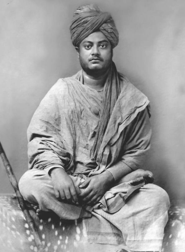 Swami Vivekananda (1863–1902) en av de främsta yogis genom tiderna.